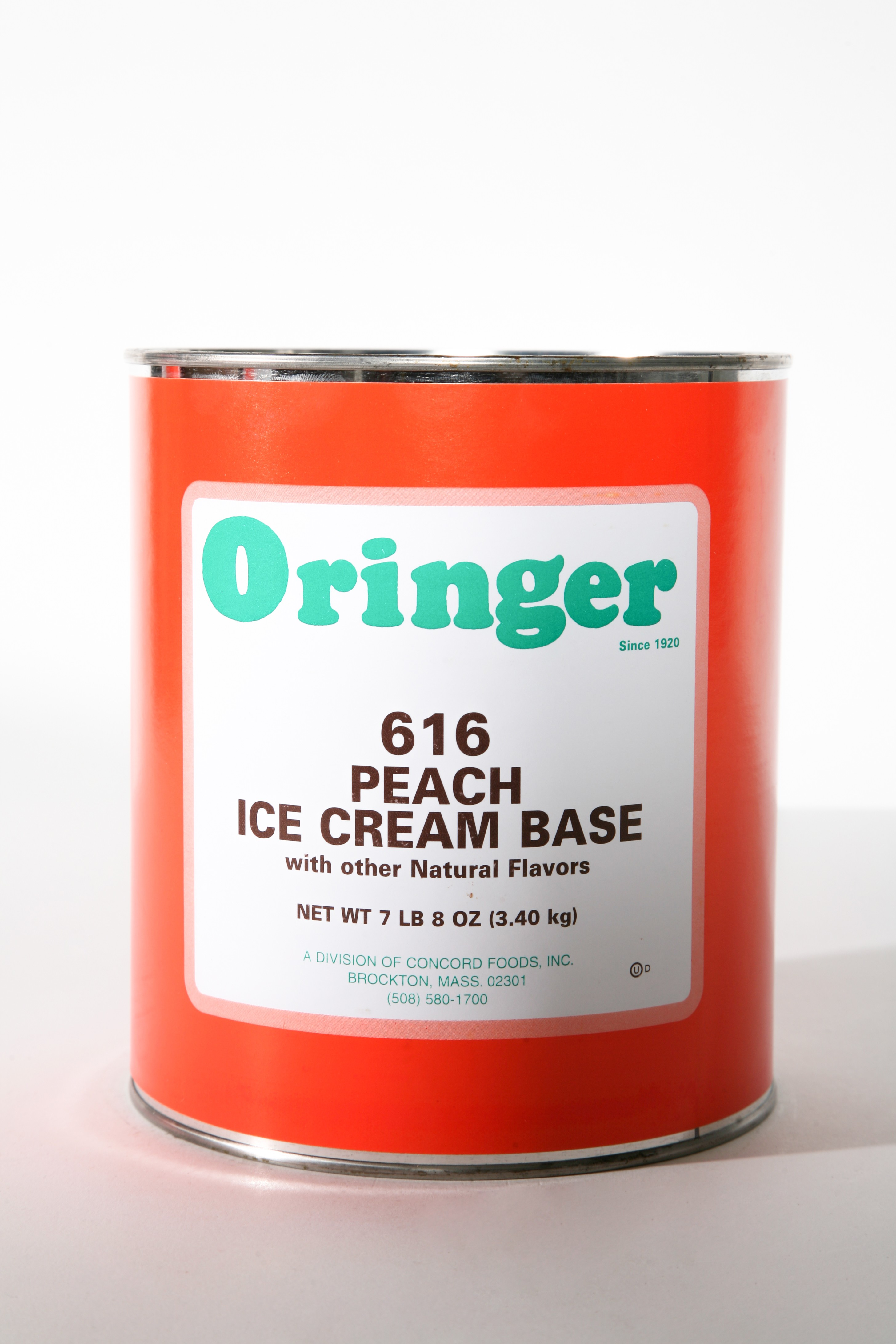 ORG PEACH CHUNKS -BASE