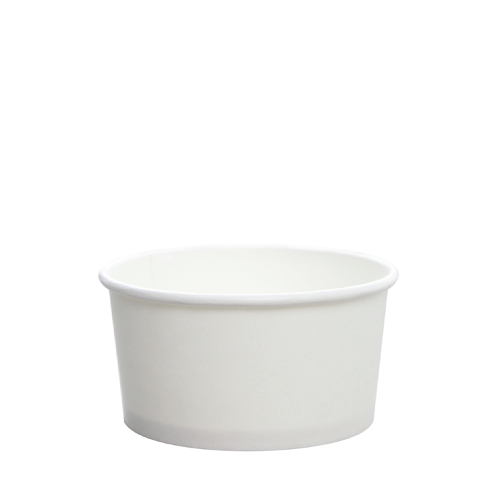 PAPER FOOD CUP 6 OZ WHITE