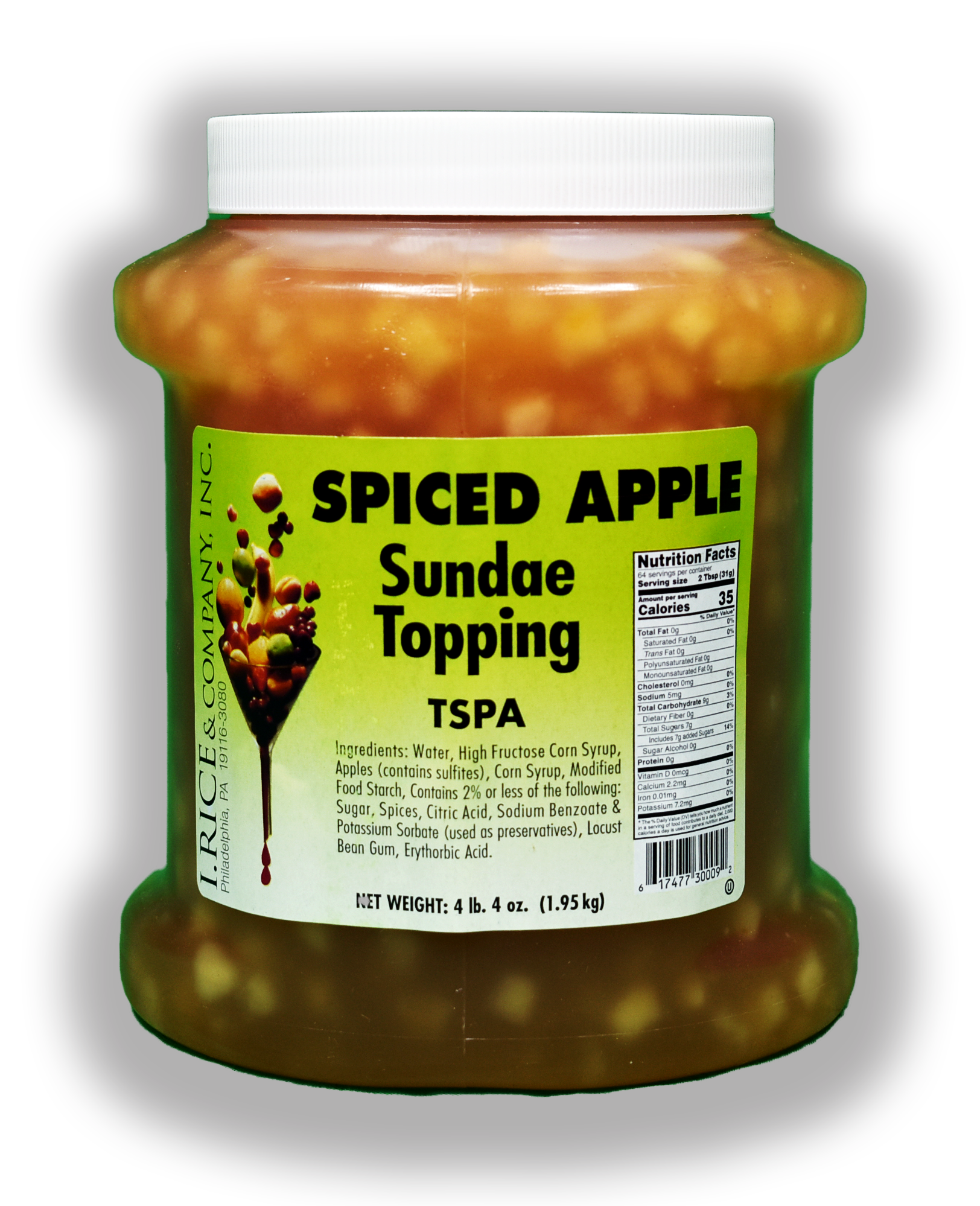 RICE SPICED APPLE TOPPING